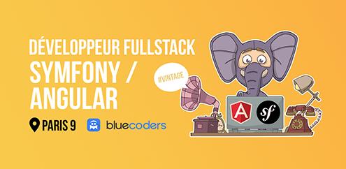 CDI - Dev Fullstack Symfony/Angular - 45k - Paris 9