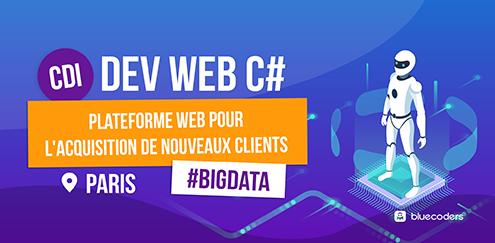 CDI - Dev Web C# - 50k - Paris
