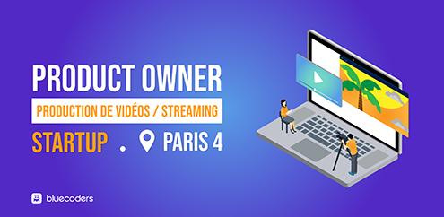 CDI - Product Owner - 70k - Paris